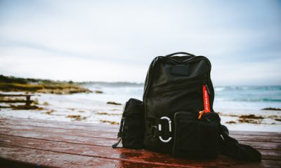 backpack trip sea