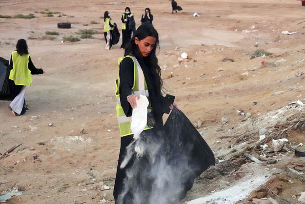 Meet Lama Jamjoom: The Young Saudi Behind the Brilliant 'Cleanup Community'